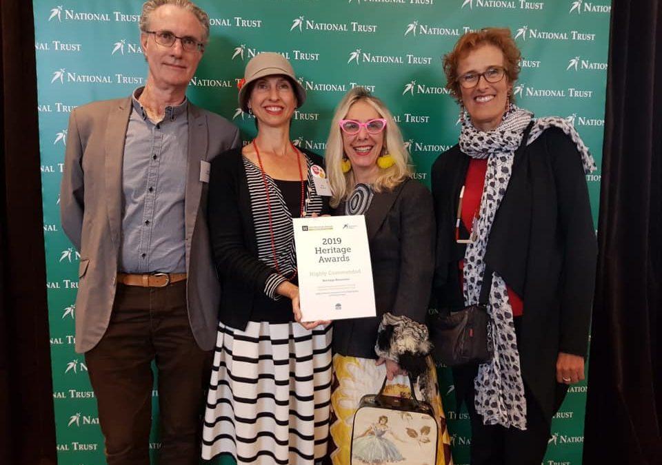 Highly commended for Addi Road conservation!