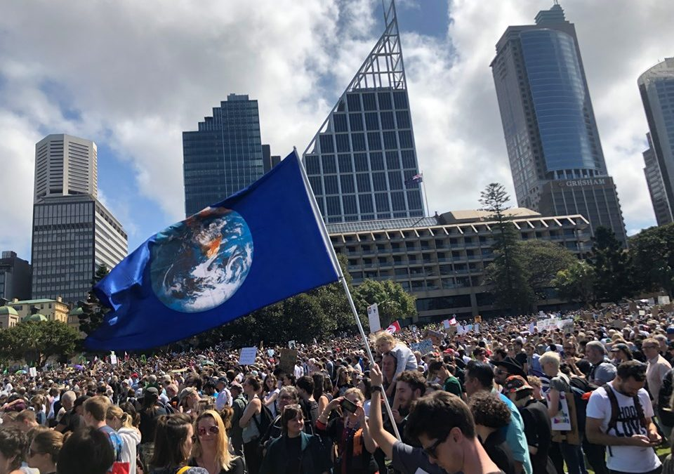 Global Climate Strike Sydney 2019