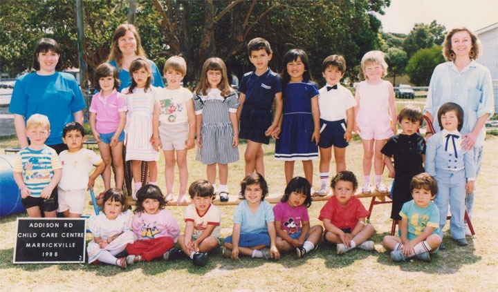Addison Road Multicultural Childcare first intake, 1988. Courtesy Ethnic Community Services Cooperative.