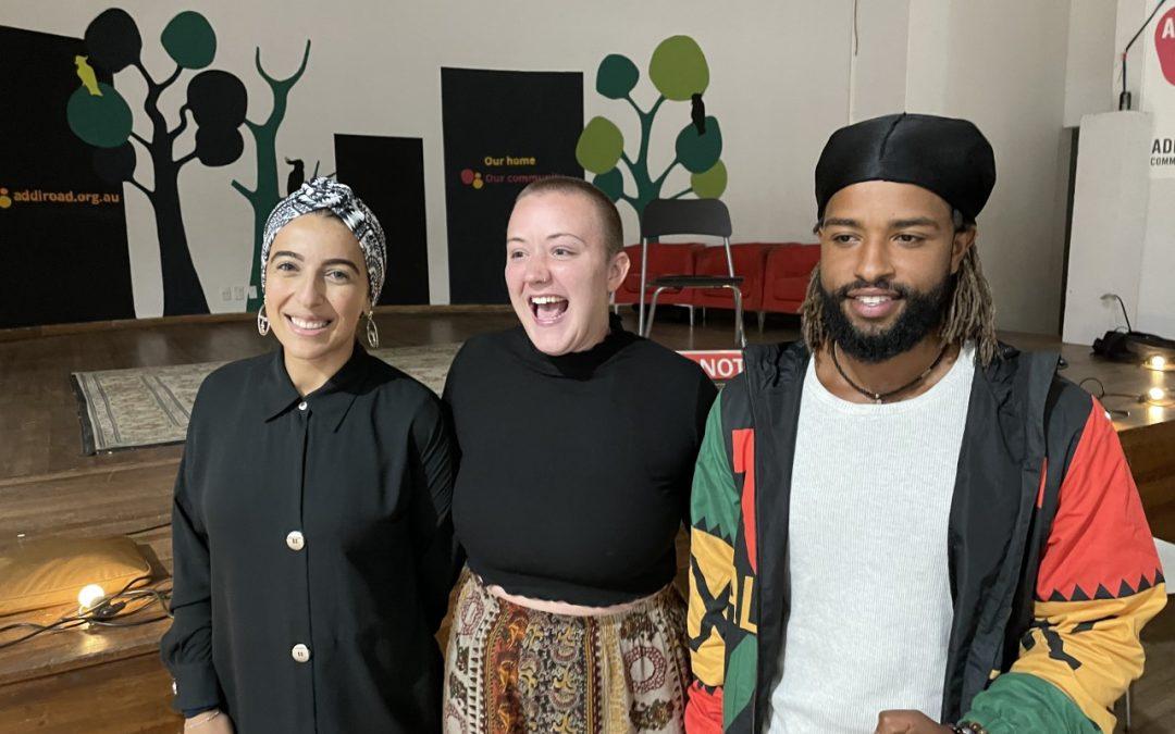 Addi Road WORD ON THE STREET Poetry Slam on film