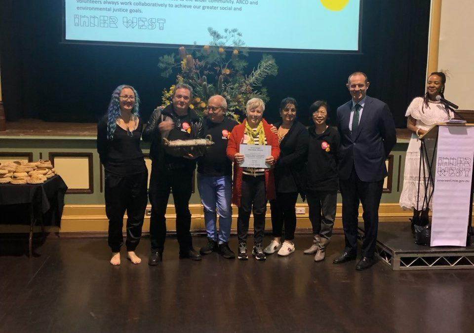 Addi Road Volunteers Acknowledged at Awards