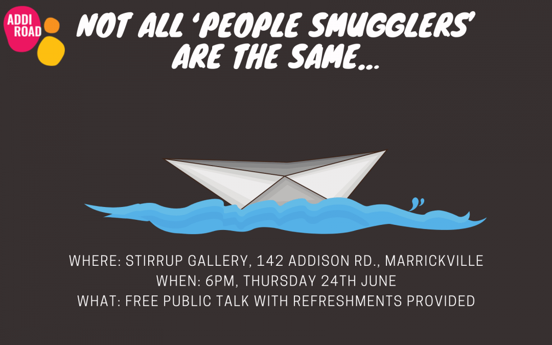 Not all 'people smugglers' are the same…