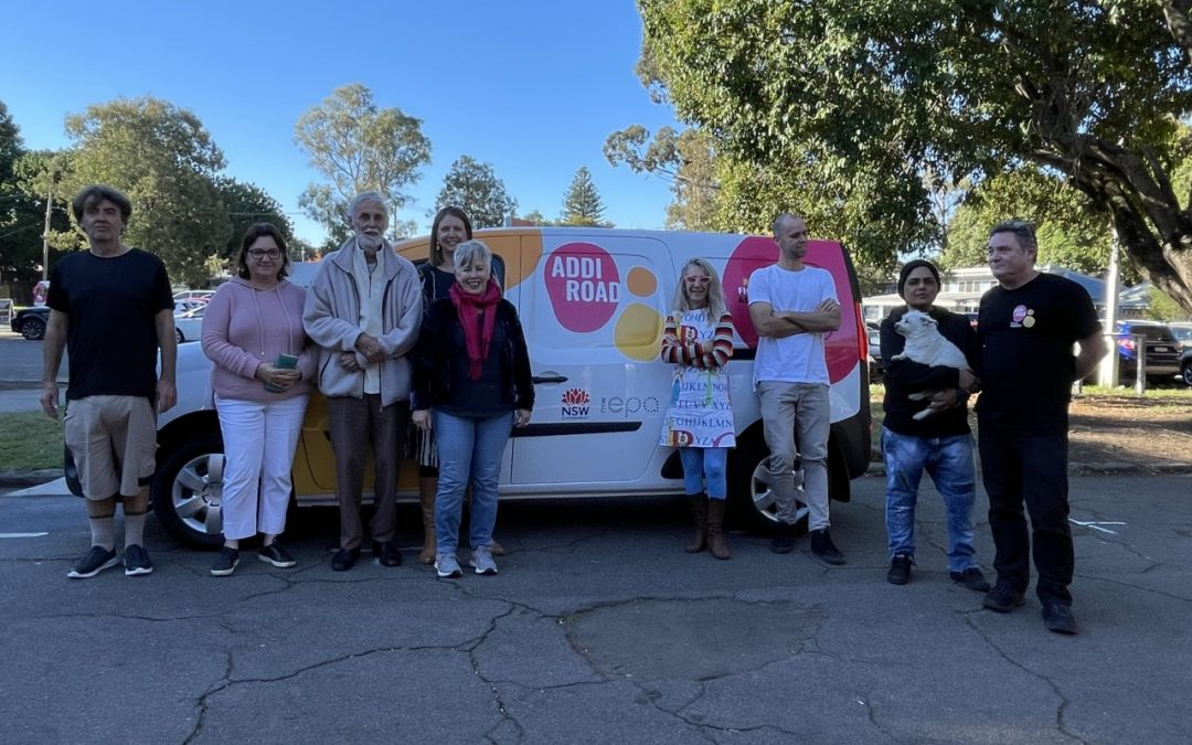 Here Comes the Sun – Addi Road has a brand new e-van charged from solar power