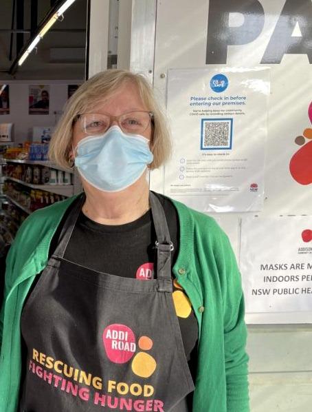 Robyn Addi Road Food Pantry volunteerJuly 2021