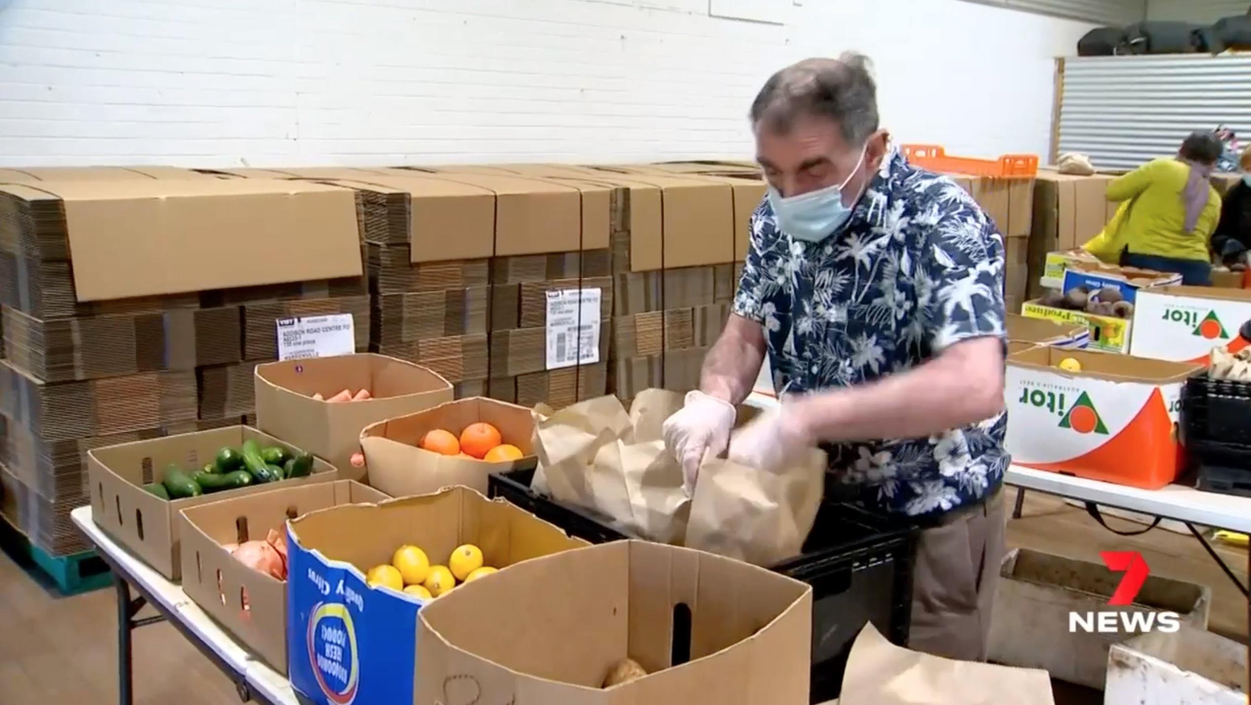 Feeding Families During Lockdown